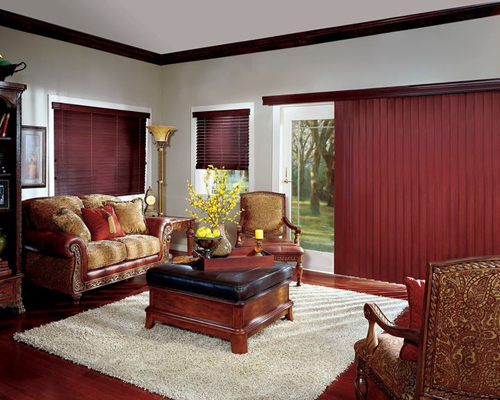 Custom drapes in a house in Littleton, CO