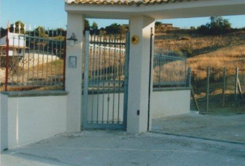 recinzioni, ringhiere in acciaio inox