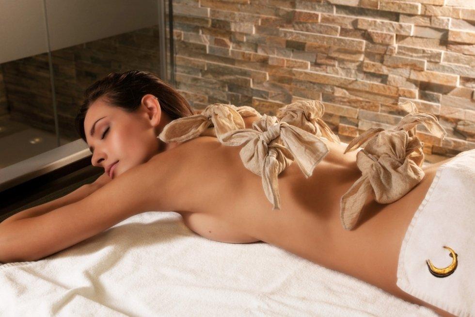 massaggio con tamponi