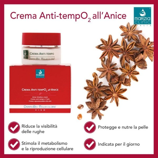 MARZIA CLINIC CREMA ANTI TEMPO ALL'ANICE