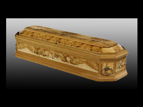 Tutte le casse funebri vendute presso la nostra azienda sono create con materiali pregiati e resistenti.