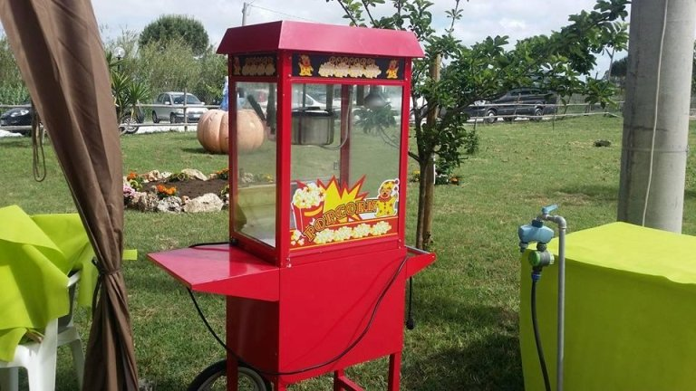 macchina popcorn feste di compleanno a roma
