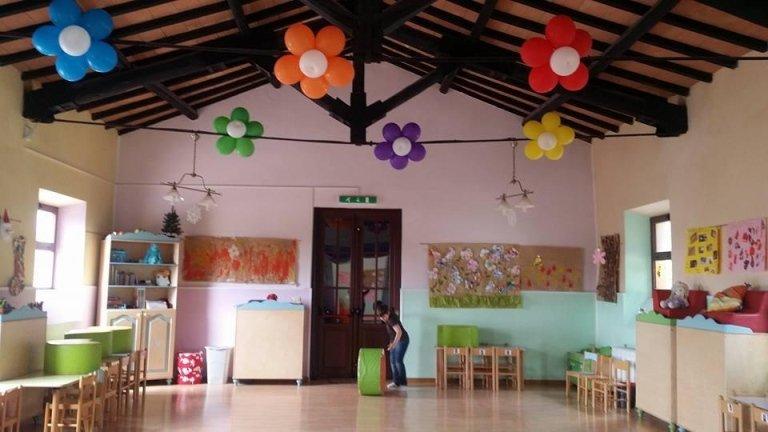 sala per feste  asilo il girotondo