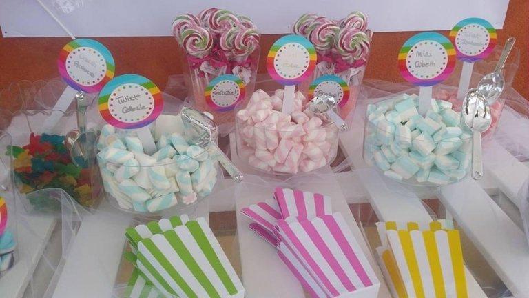 candy per feste di compleanno
