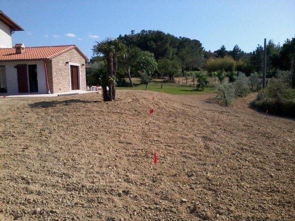 Realizzazione impianto irrigazione