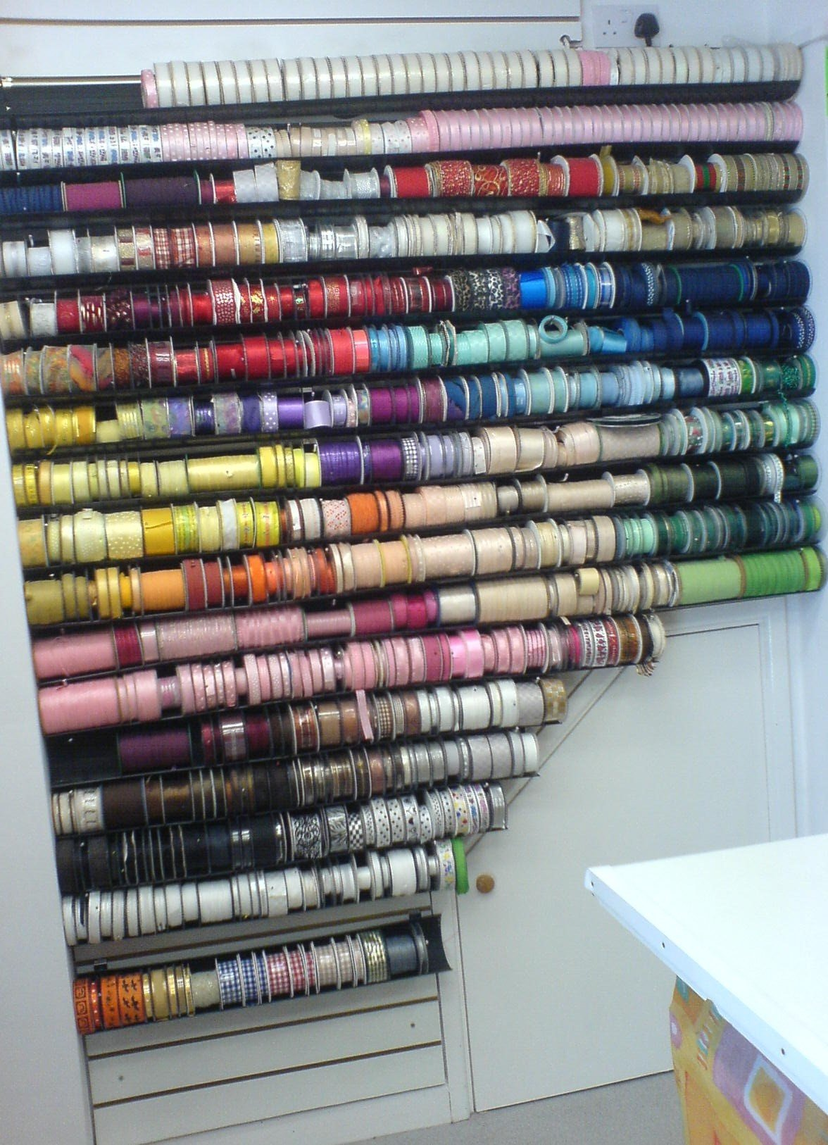Sewing Shop's great range of ribbons