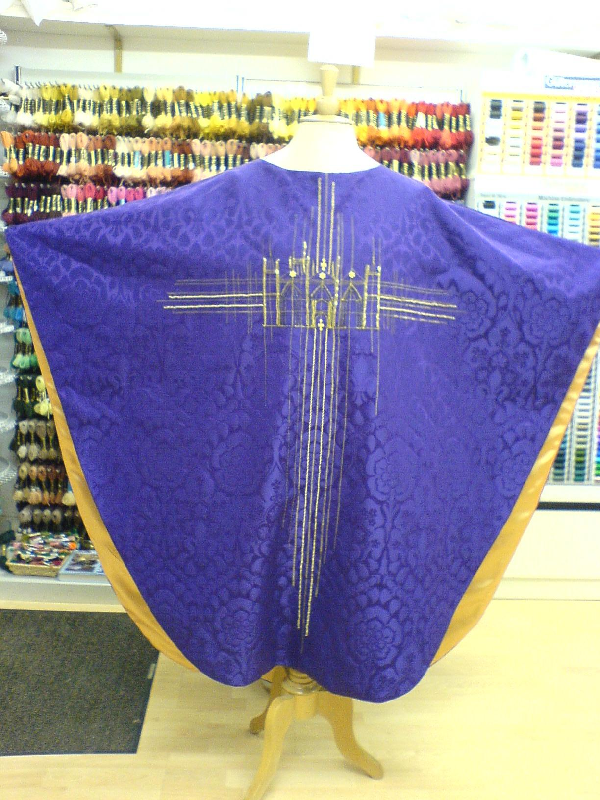 Chasuble Commission from The Sewing Shop