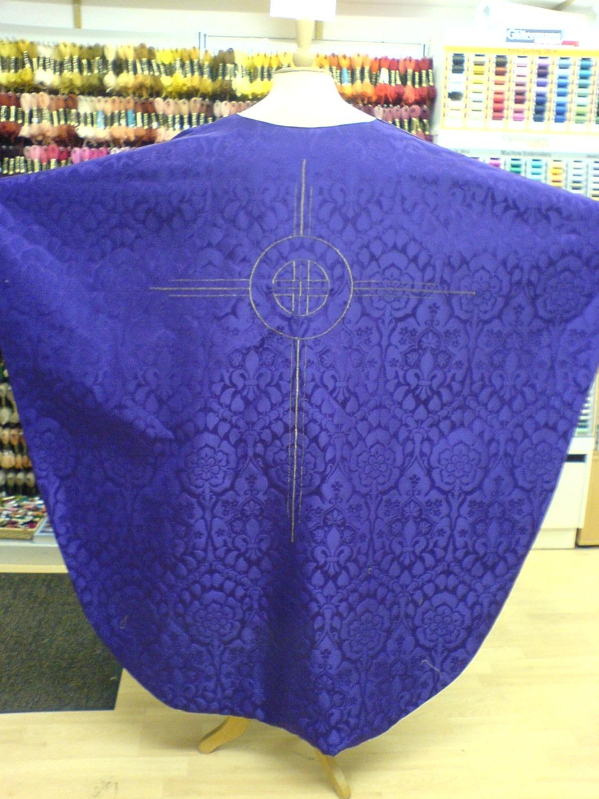 The Sewing Shop's Chasuble Commission