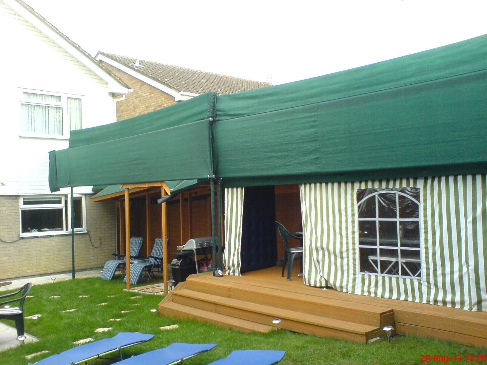 Sewing Shop's awning commission