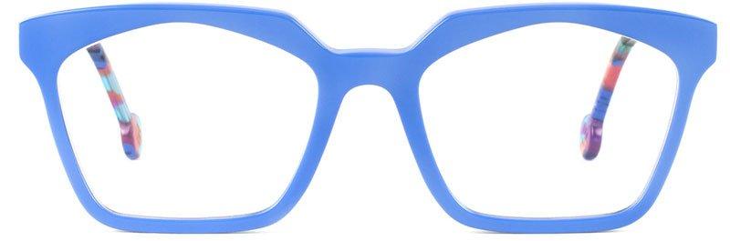 occhiali color blu