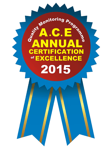 ACE ANNUAL AWARD Logo