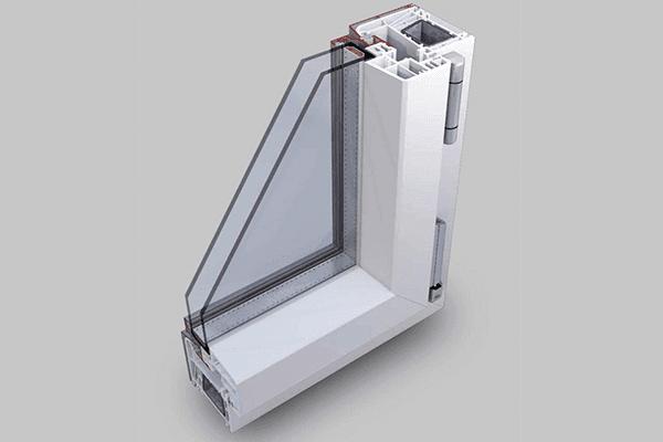 infissi pvc vetro strutturale