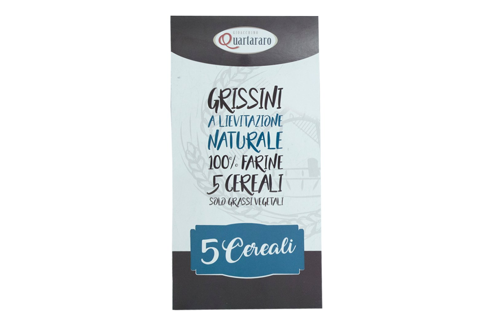 packaging grissini ai 5 cereali
