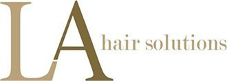 LA hair solutions logo