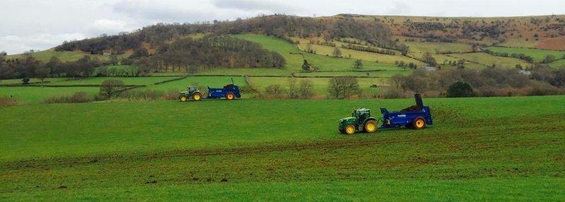 slurry field tractors