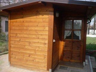 lavorazione casette legno
