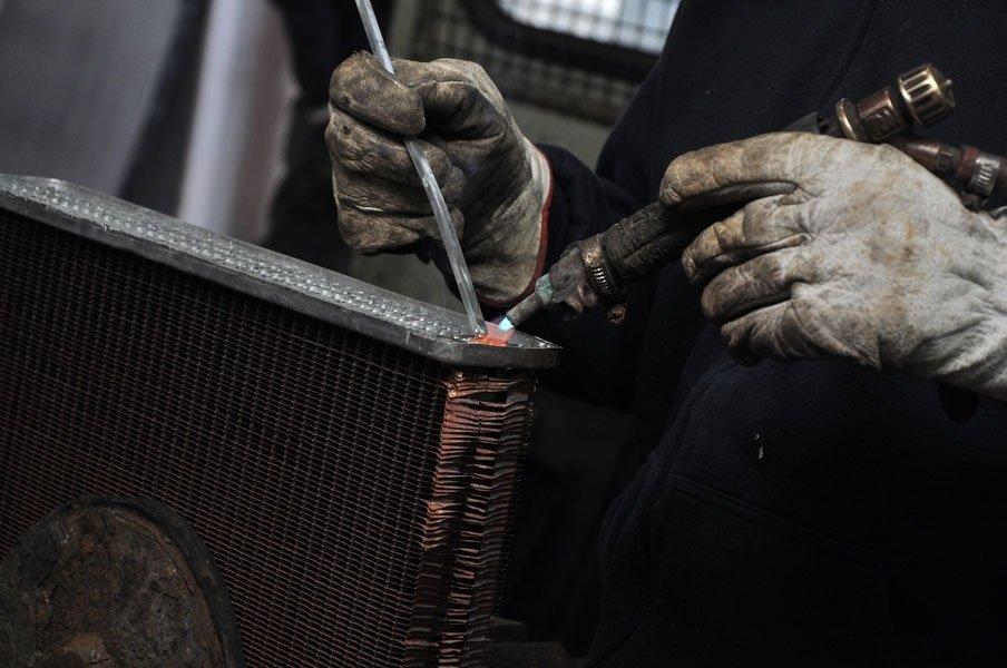 costruzione radiatori per veicoli industriali