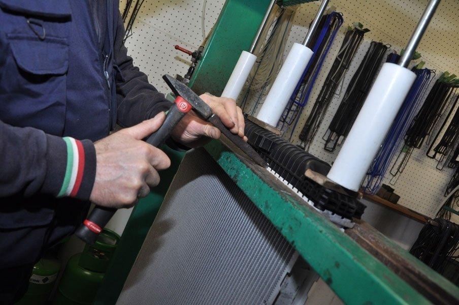 montaggio radiatore