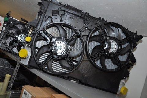 radiatore con ventola