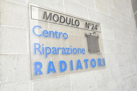 officina per riparazione radiatori