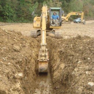 scavi per fognature