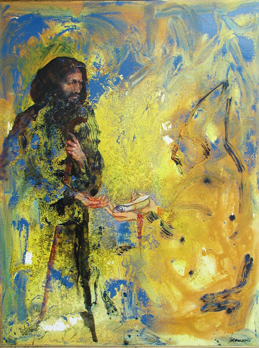 Dipinto di una donna