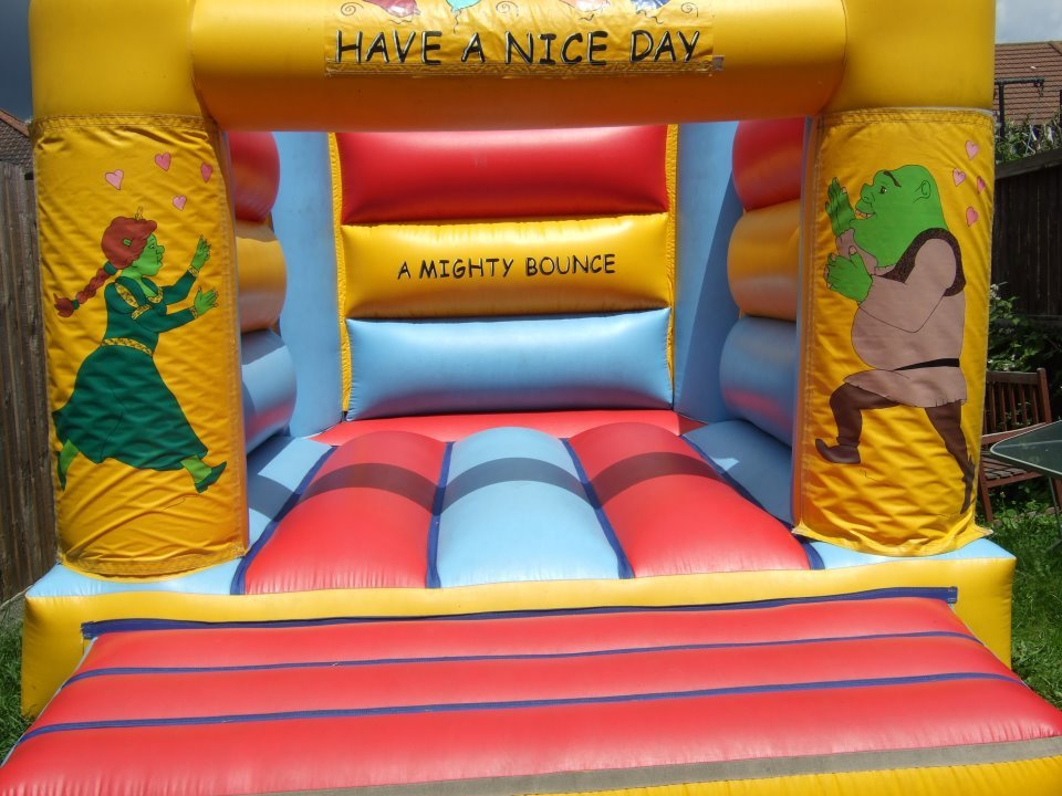 bouncy castles for parties