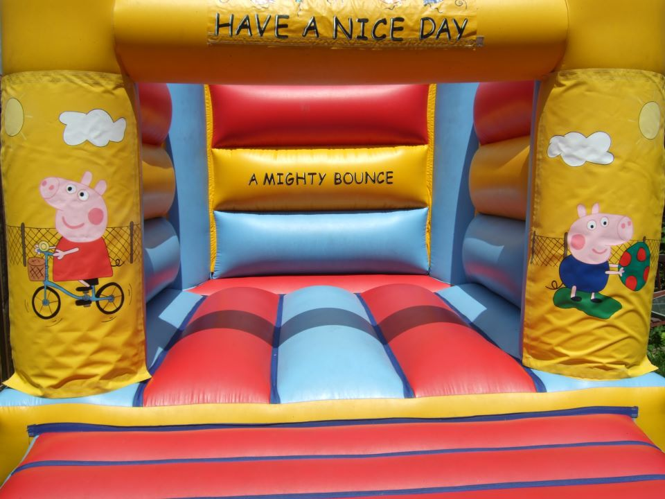 bouncy castle for adults and children