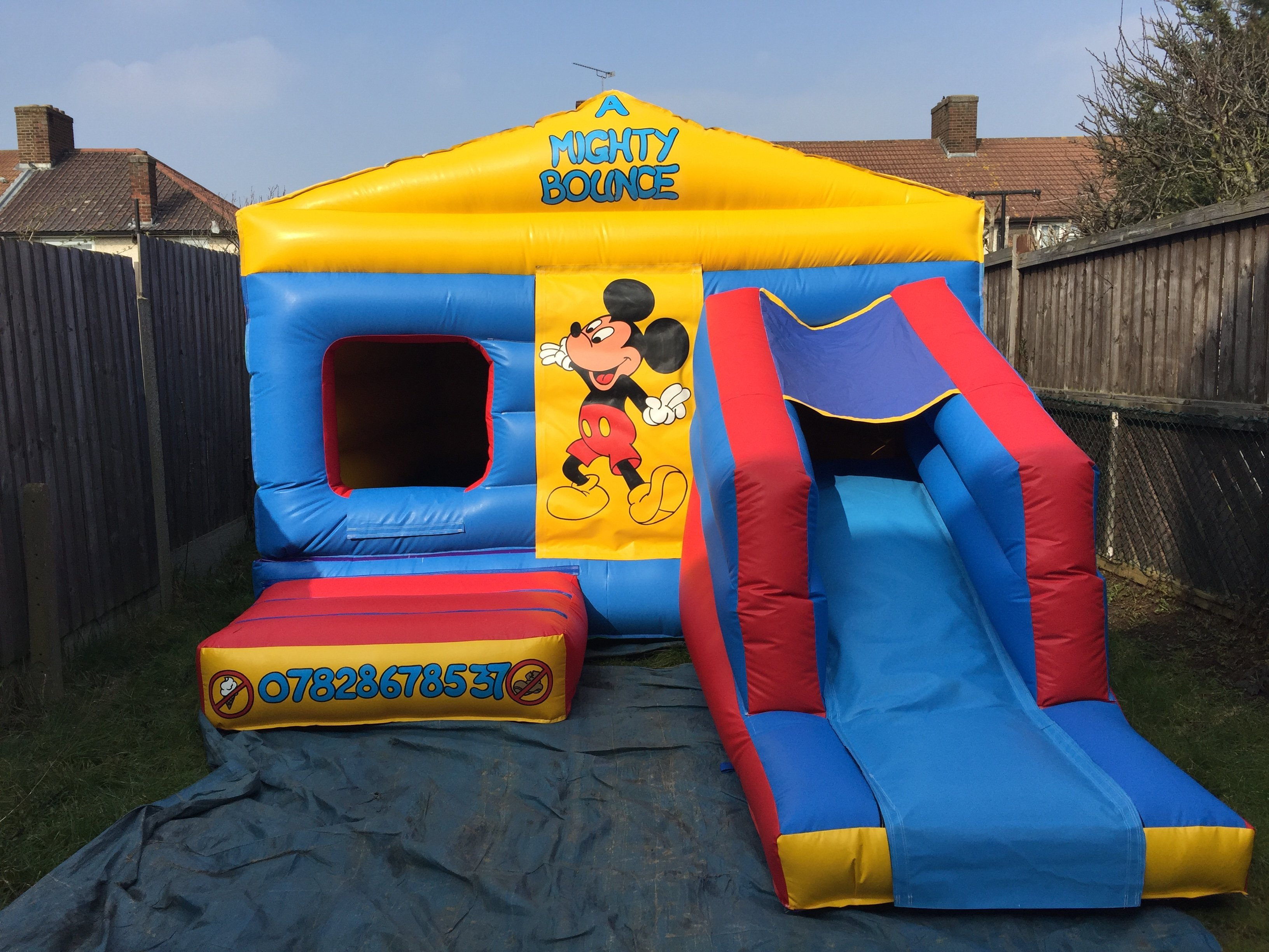 bouncy castles for kids
