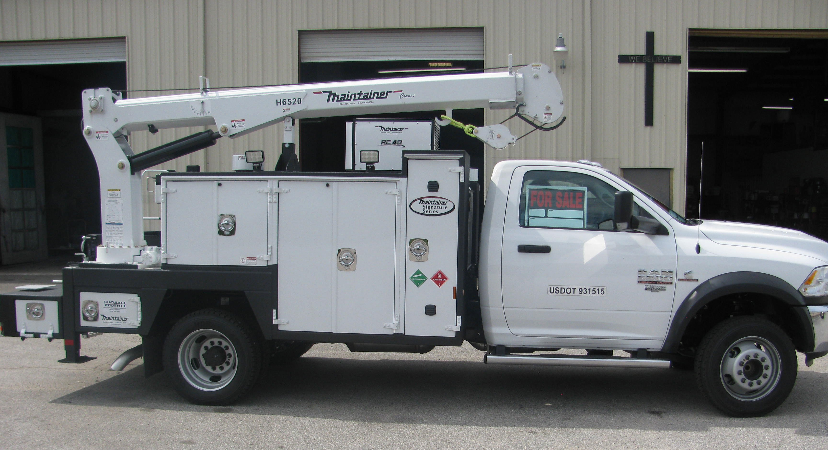 For Sale-New Maintainer Service Truck