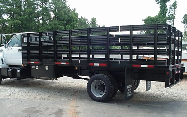 We sell Flatbed, Stake and Dump bodies