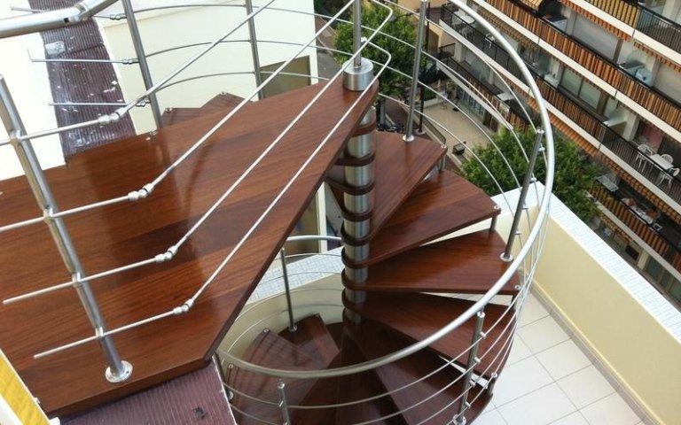produzione scale a spirale