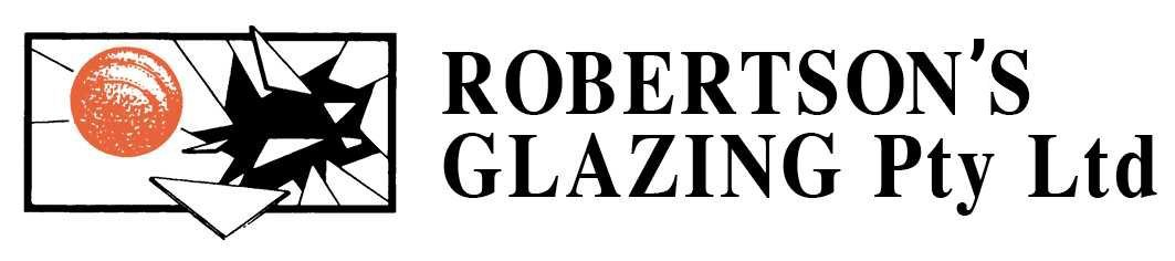 robertsons glazing service pty ltd logo