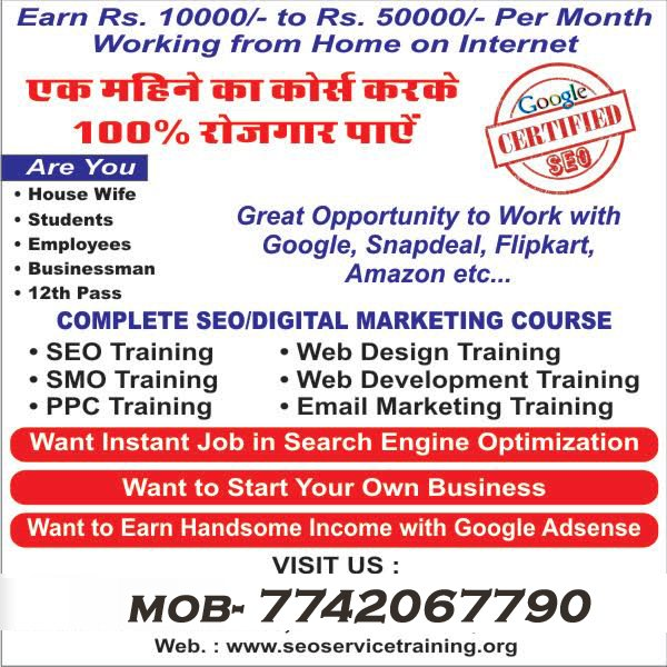 seo digital marketing institute in jaipur sikar
