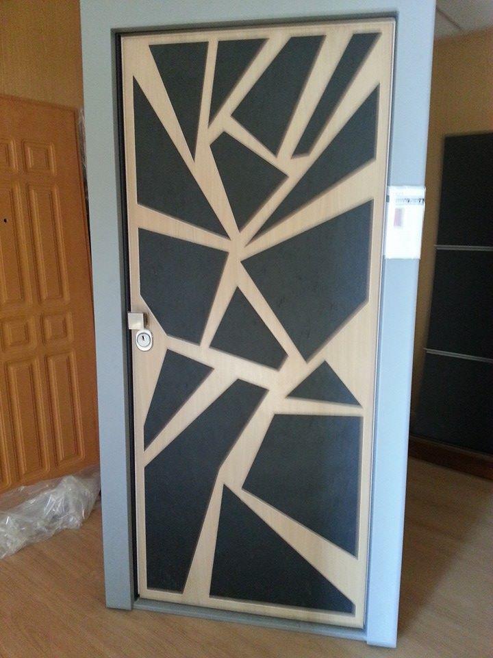 Porta Blindata fabbricata da AM Service Porte e Infissi 6