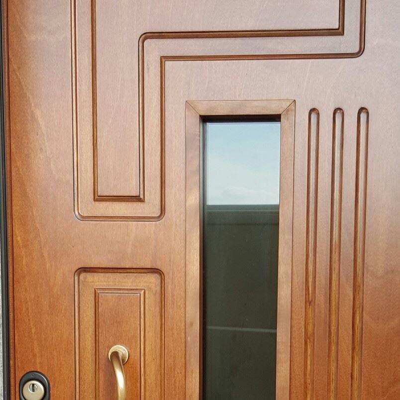 Porta Blindata fabbricata da AM Service Porte e Infissi 1