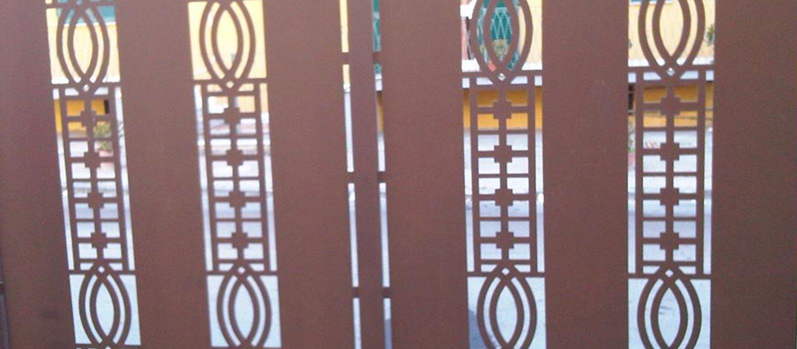 decorazione di un cancello