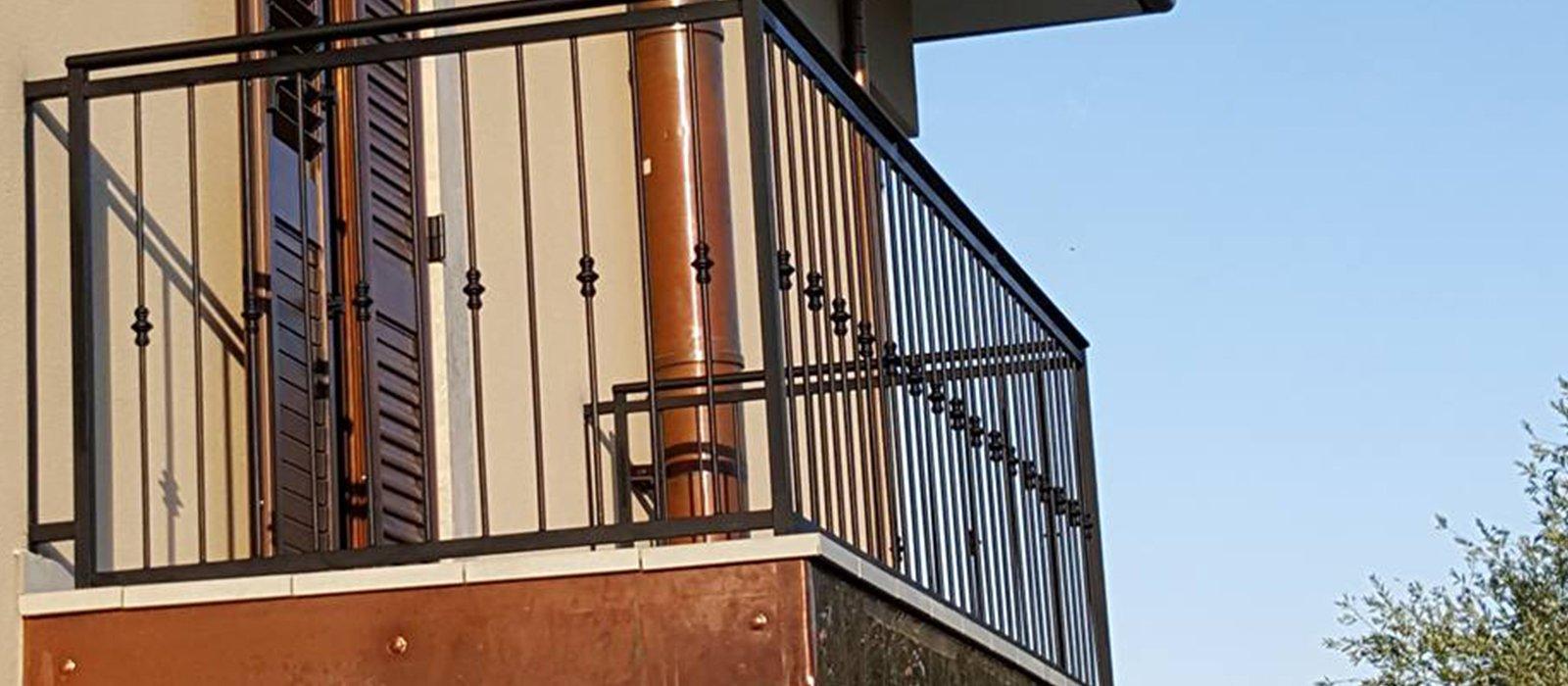 ringhiera balcone esterno