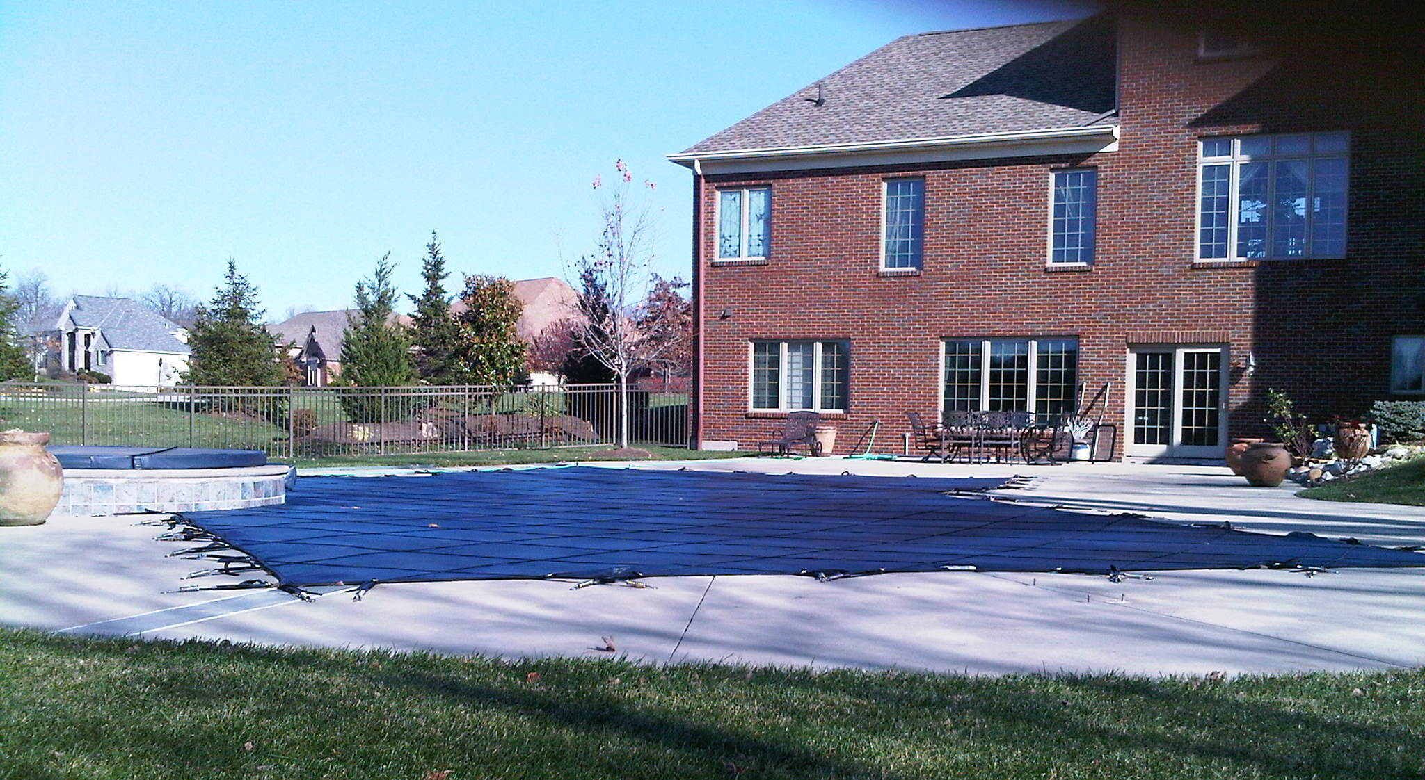 Pool cleaning by speedy swimming pool service in Fort Thomas, KY