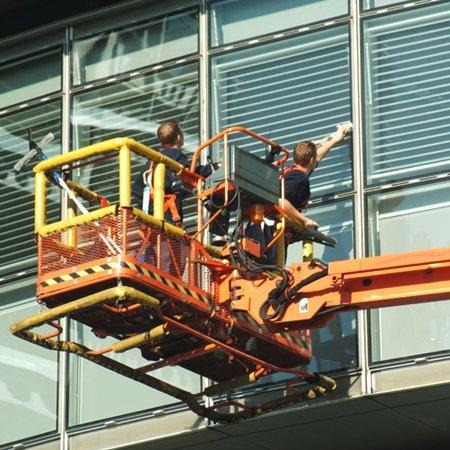 Long reach window cleaning pole