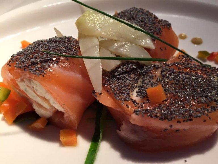 rollè di salmone
