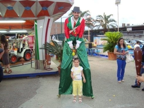Il trampoliere e la piccola