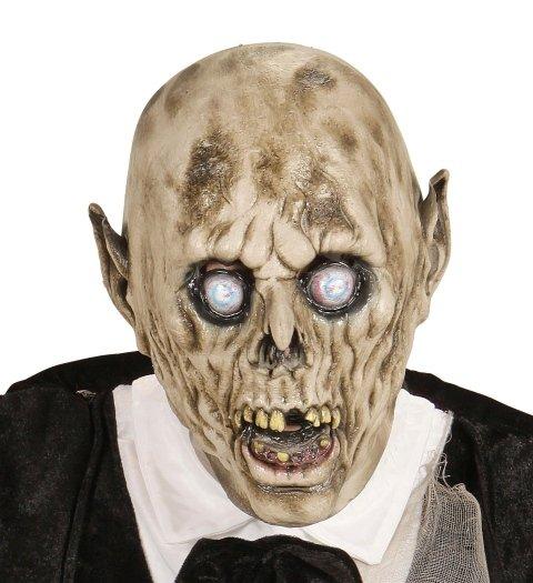 Maschera con orecchie acuminate,denti rotti