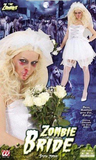 Costume di zombie bride