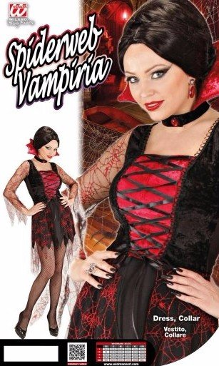 Costume di Spiderweb Vamp