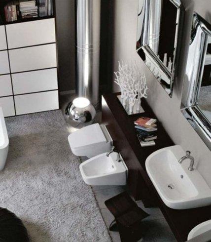 bagno classico, bagno moderno