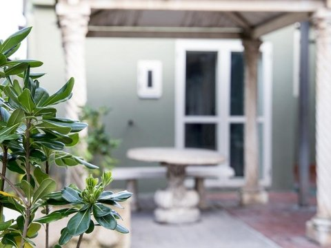 giardino per anziani