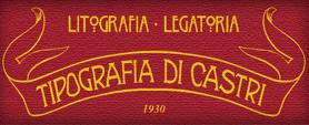 TIPOGRAFIA LEGATORIA DI CASTRI - LOGO