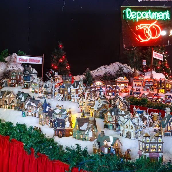 department 56 is a manufacturer of holiday collectibles ornaments and giftware known for their lit christmas a precious moments christmas village