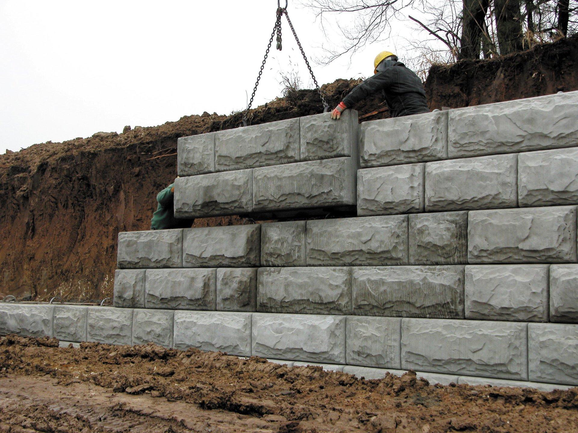 Retaining Walls in Rochester, NY & Pembroke, NY   Western NY Concrete Corp